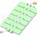 Цепь транспортная пластинчатая для стеклянной тары тип D ГОСТ 27272-87 :: Пластинчатая цепь конвейеров