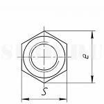 Гайка :: Замыкающая деталь резьбового соединения или деталь винтового механизма, имеющая резьбовое отверстие