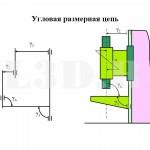 Угловая размерная цепь :: Размерная цепь, звеньями которой являются угловые размеры