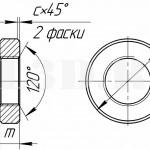 Круглая гайка :: Гайка с внешней цилиндрической поверхностью