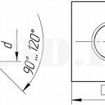 Квадратная гайка ::Гайка с внешней поверхностью в виде квадрата