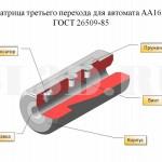 МАТРИЦА :: ГОСТ 26509-85 для автомата АА1617