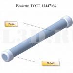 Рукоятка ГОСТ 13447-68 :: Для d меньше 18 мм