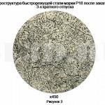 Быстрорежущая сталь :: Микроструктура быстрорежущей стали марки Р18 после закалки и 3-х кратного отпуска