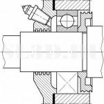 Канавочное уплотнение :: Уплотнение подвижного контакта в виде канавок, заполненных консистентной смазкой
